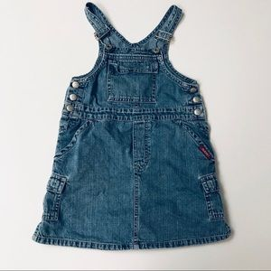 Vintage 90's Guess overall dress